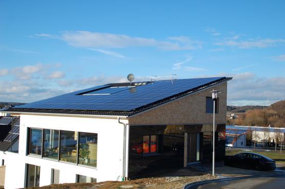High-Tech-Haus: vom Strommarkt unabhängig